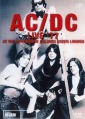 No Image for AC/DC LIVE '77 AT THE HIPPODROME GOLDERS GREEN LONDON